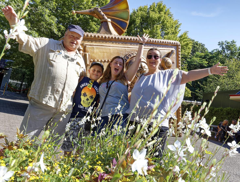 Het gezin Van Ansem uit Deurne genoot dinsdag met volle teugen van een dagje Efteling.
