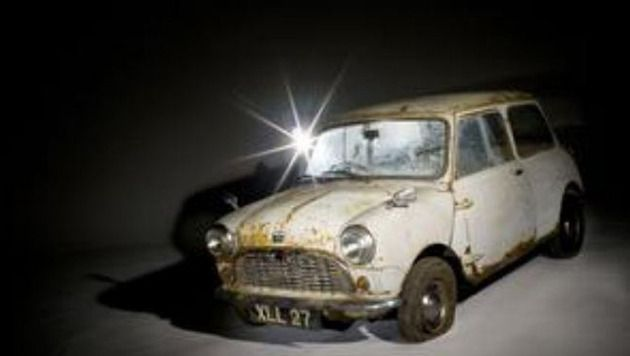 De Austin Mini Se7en De Luxe.