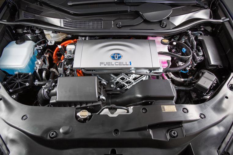 De Toyota Mirai, een auto die op waterstof rijdt Beeld TR BEELD