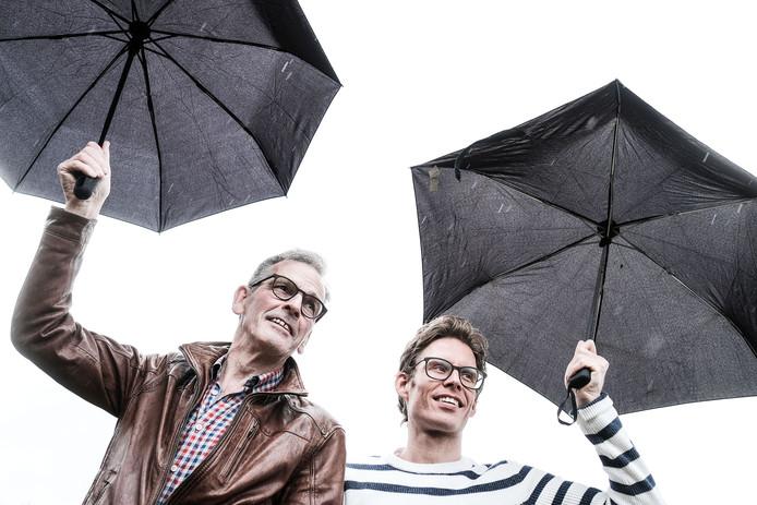 René Peter en Egbert Hermsen uit Silvolde danken hun leven aan een onbekende donor.