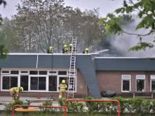 Grote brand bij basisschool in Renkum, verdachte opgepakt