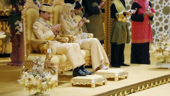 Prins Brunei krijgt droomhuwelijk met verbijsterende pracht