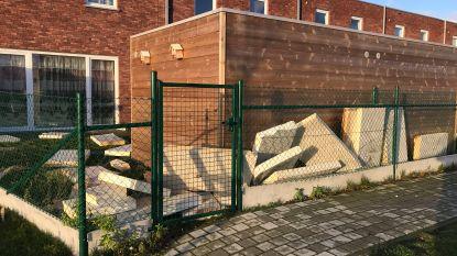 Torhouts gezin zonder verwarming nadat storm drie platte daken van nieuwbouwwoningen wegblaast