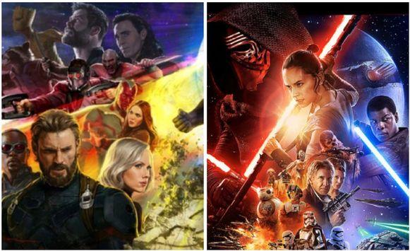 Marvel- en Star Wars-films zullen volledig van Netflix verdwijnen.