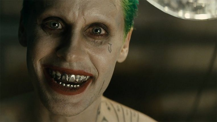Jared Leto als 'The Joker' in 'Suicide Squad'.