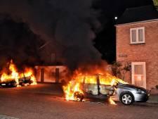 Drie auto's in brand gestoken in Oisterwijk