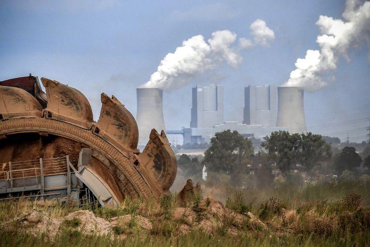 De bruinkoolcentrale van Kerpen-Manheim in Noordrijn-Westfalen.