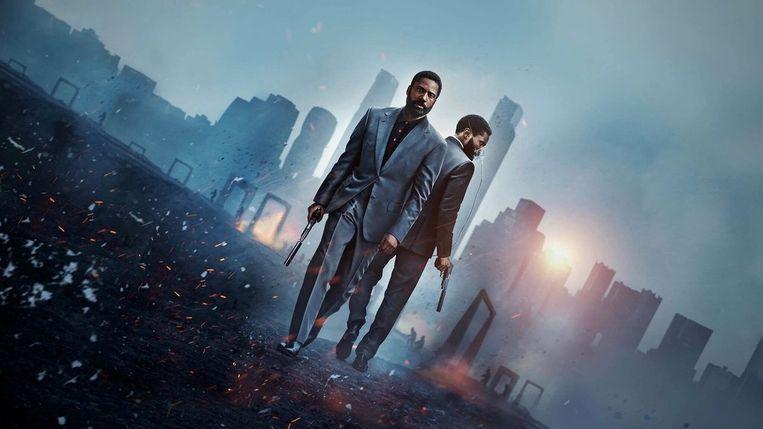 'Tenet', de langverwachte nieuwe blockbuster van 'Inception'- en 'The Dark Knight'-regisseur Christopher Nolan. Beeld RV