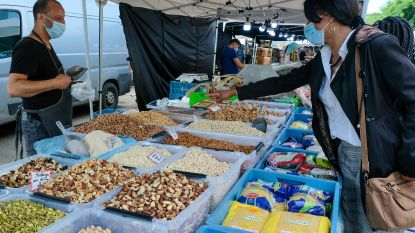 In beeld: Zuidmarkt na 3 maanden eindelijk opnieuw van de partij