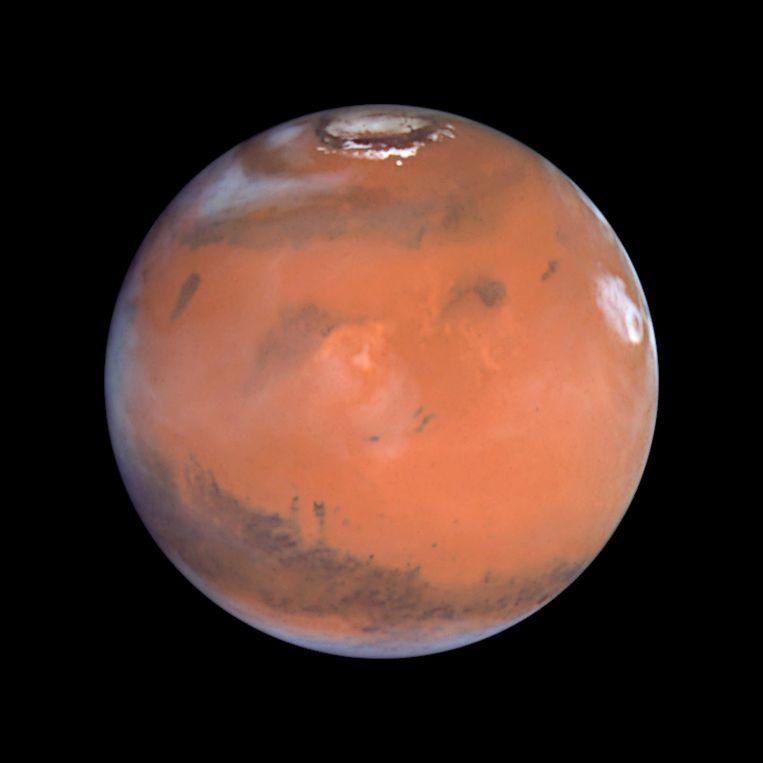 Maven gaat de atmosfeer van Mars onderzoeken. Beeld reuters