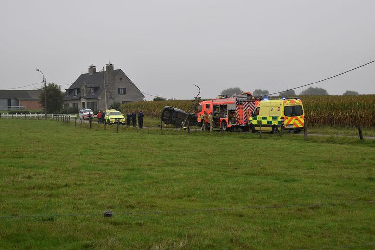 Door het ongeval bleef de Weehage een hele tijd afgesloten voor het verkeer.