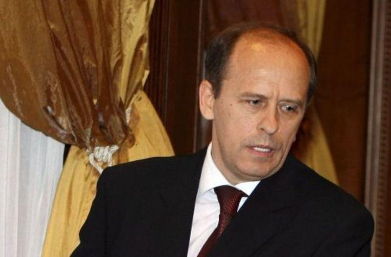 Aleksandr Bortnikov, de chef van de FSB. ANP Beeld