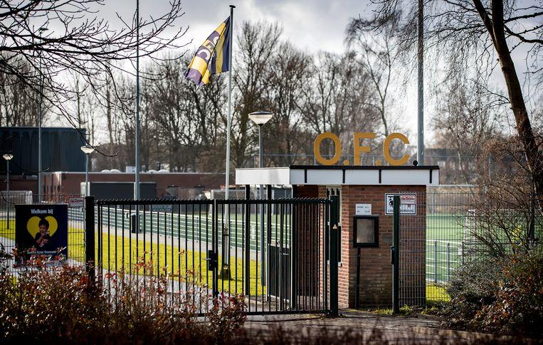 Sportcomplex OFC in Oostzaan. Beeld Koen van Weel/ANP