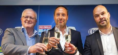 PEC Zwolle mikt met aandelen op vaste plek in top 6