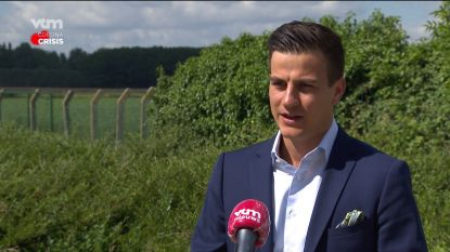 """Van Langenhove betrapt op barbecue: """"Ik had naar huis moeten gaan"""""""
