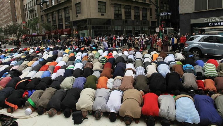 Muslim Day Parade, New York, 2010. Beeld afp