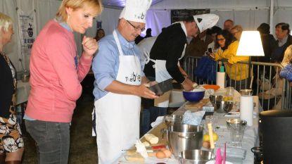 Burgemeesters strijden tegen elkaar op taartenbak