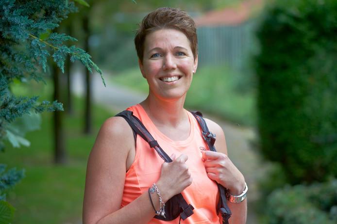 Karen Nabuurs uit Uden gaat voor de 25ste keer de Nijmeegse Vierdaagse lopen.