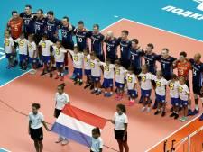 Volleyballers sluiten eerste ronde af met zege op Egypte