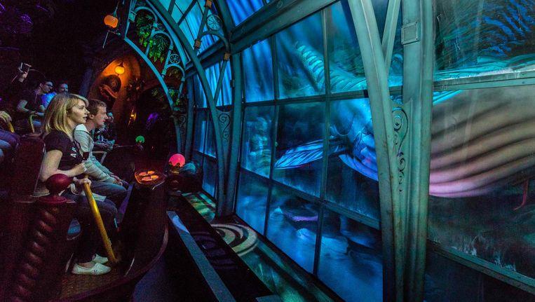 Paleis der Fantasie, de nieuwste attractie in De Efteling Beeld Rob Engelaar/ANP