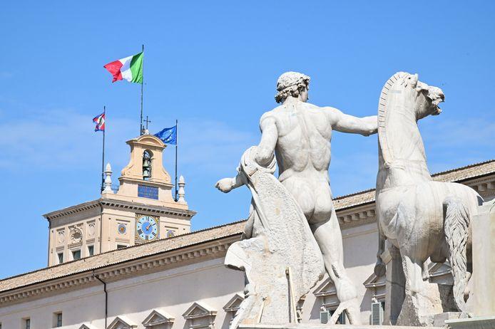 Het presidentieel paleis in Rome.