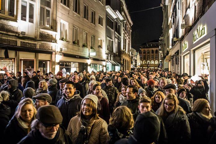 Afgelopen zaterdag was tot nu toe de drukste dag van alle edities van het Lichtfestival.