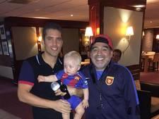 Op de foto met Maradona, upload je selfie