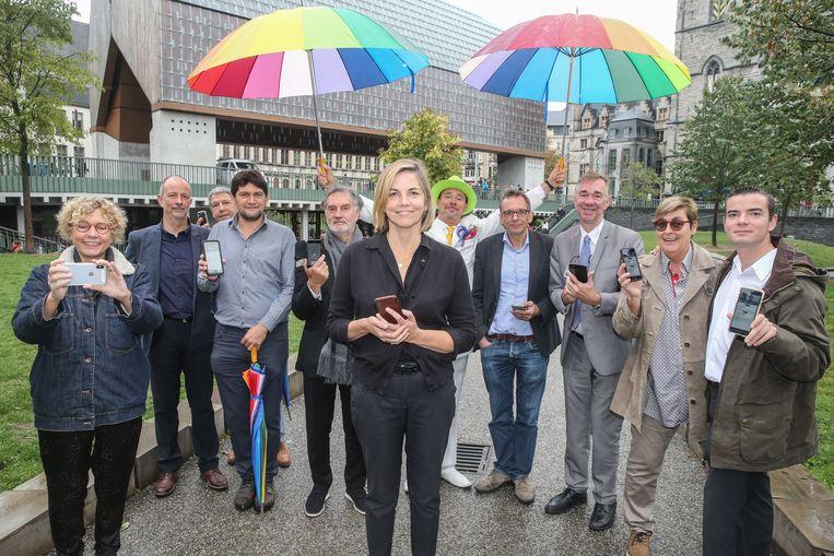 Duw.Gent met centraal lijsttrekker Ann Van Gysel.