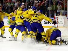 Zweden pakt tiende wereldtitel ijshockey