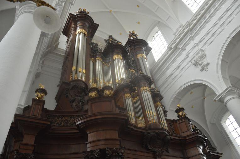 Het orgel van de Abdijkerk.