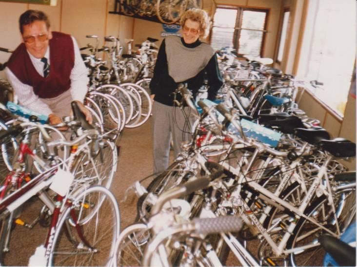 'Bent u van de fietsen?'