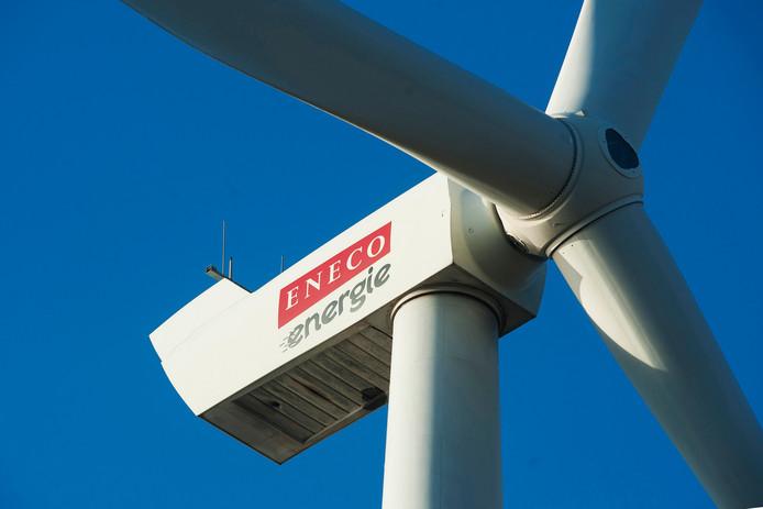 Een windturbine van Eneco.