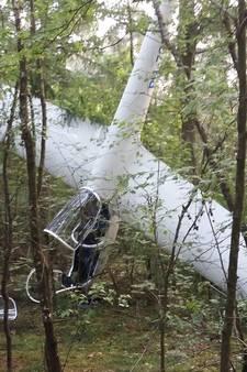 'Leerling' en instructeur nauwelijks gewond na crash met zweefvliegtuig