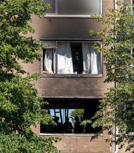 Zuurstofcilinder ontploft na brand in appartementencomplex Vlissingen