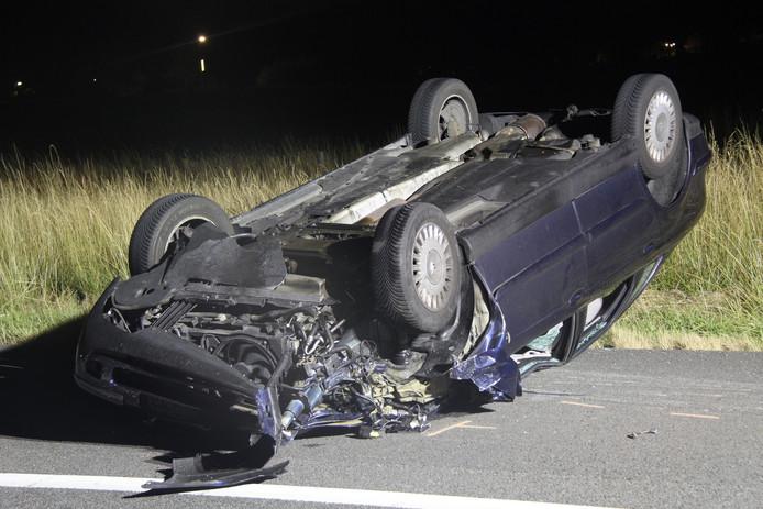 Bij een ongeval op de A1 bij Bathmen zijn meerdere gewonden gevallen.