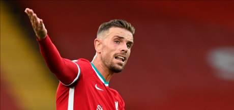 Liverpool mist aanvoerder Henderson in topper tegen Arsenal