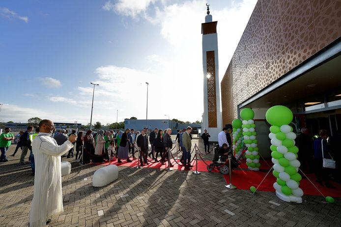 De El Feth Moskee in Bergen op Zoom bij de opening in 2019.