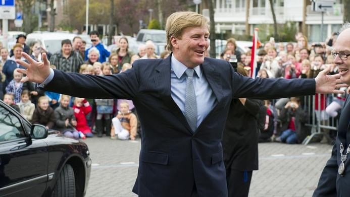 Prins Willem-Alexander.