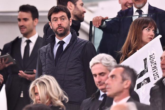 Juventus-voorzitter Andrea Agnelli.