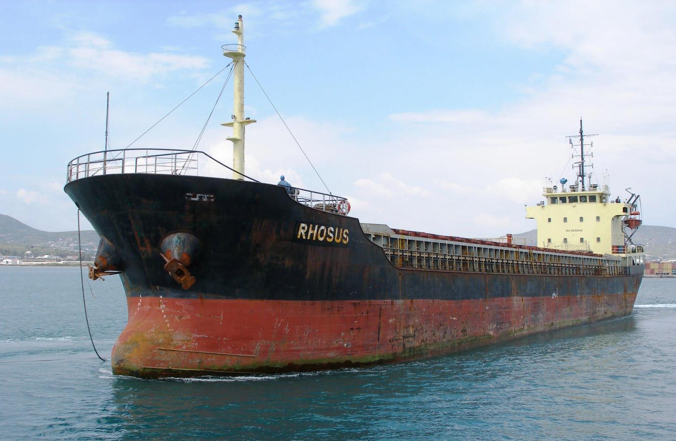 """Le cargo russe """"Rhosus"""", sous pavillon moldave (archives)"""