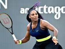 Serena Williams: zonder publiek is er toch minder spanning