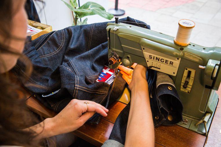 Jeans laten pimpen met labels kan