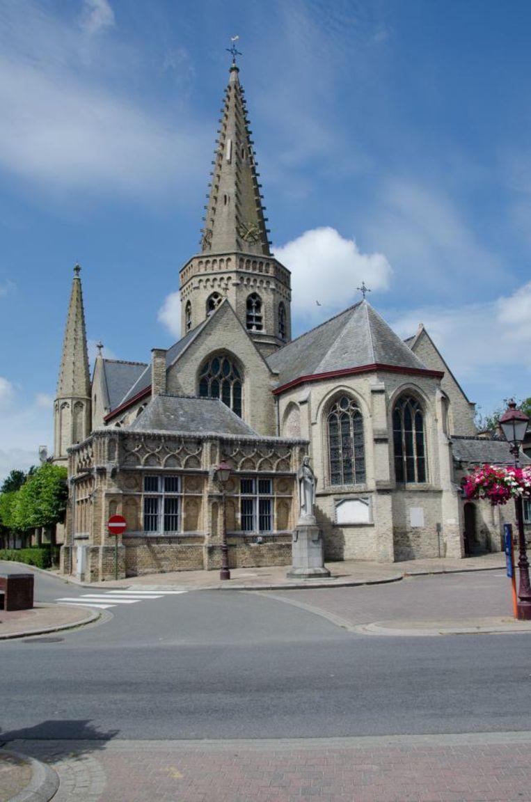De kerk van Handzame