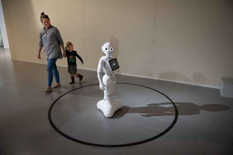 Robot Pepper. Beeld Lotte Stekelenburg