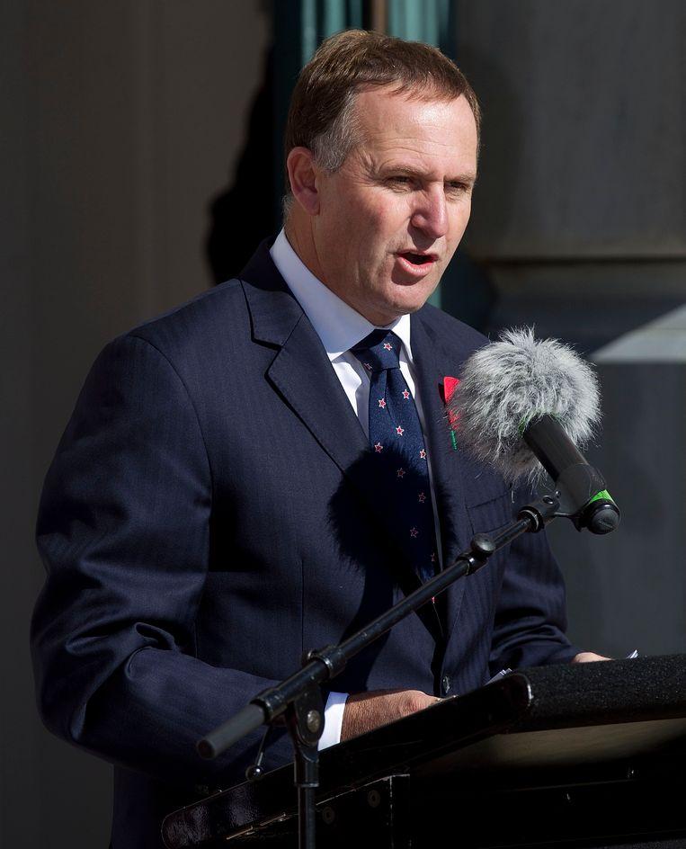 Premier John Key.