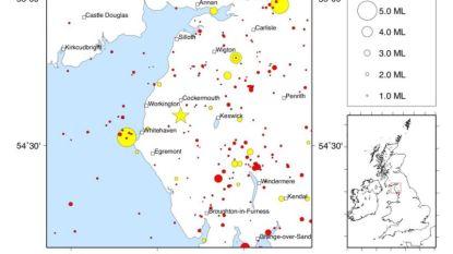 """Aardbeving in Noord-Engeland: """"Ons huis trilde 20 seconden lang"""""""