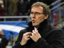 Laurent Blanc fâché sur le jeu des Diables Rouges