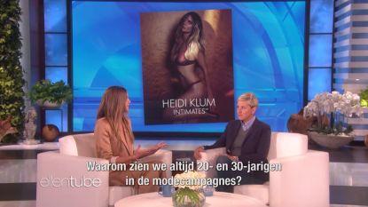 """Heidi Klum is boos: """"Vrouwen hebben toch geen vervaldatum?"""""""