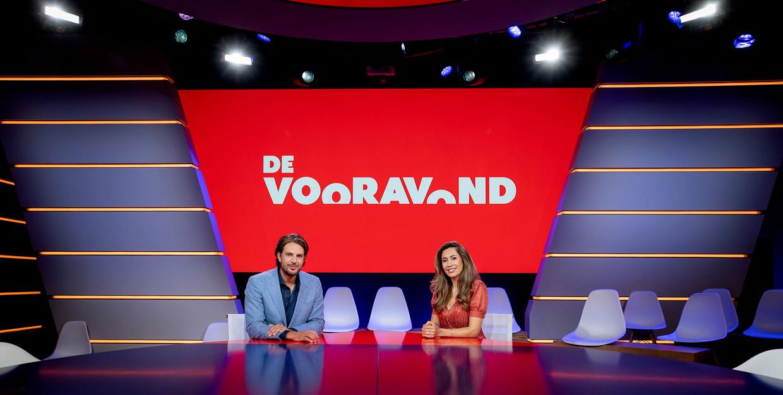 NPO 1-talkshow De Vooravond. Beeld ANP