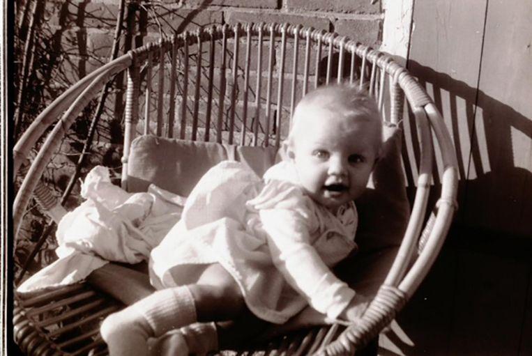 Kinderfoto Annejet van der Zijl Beeld -